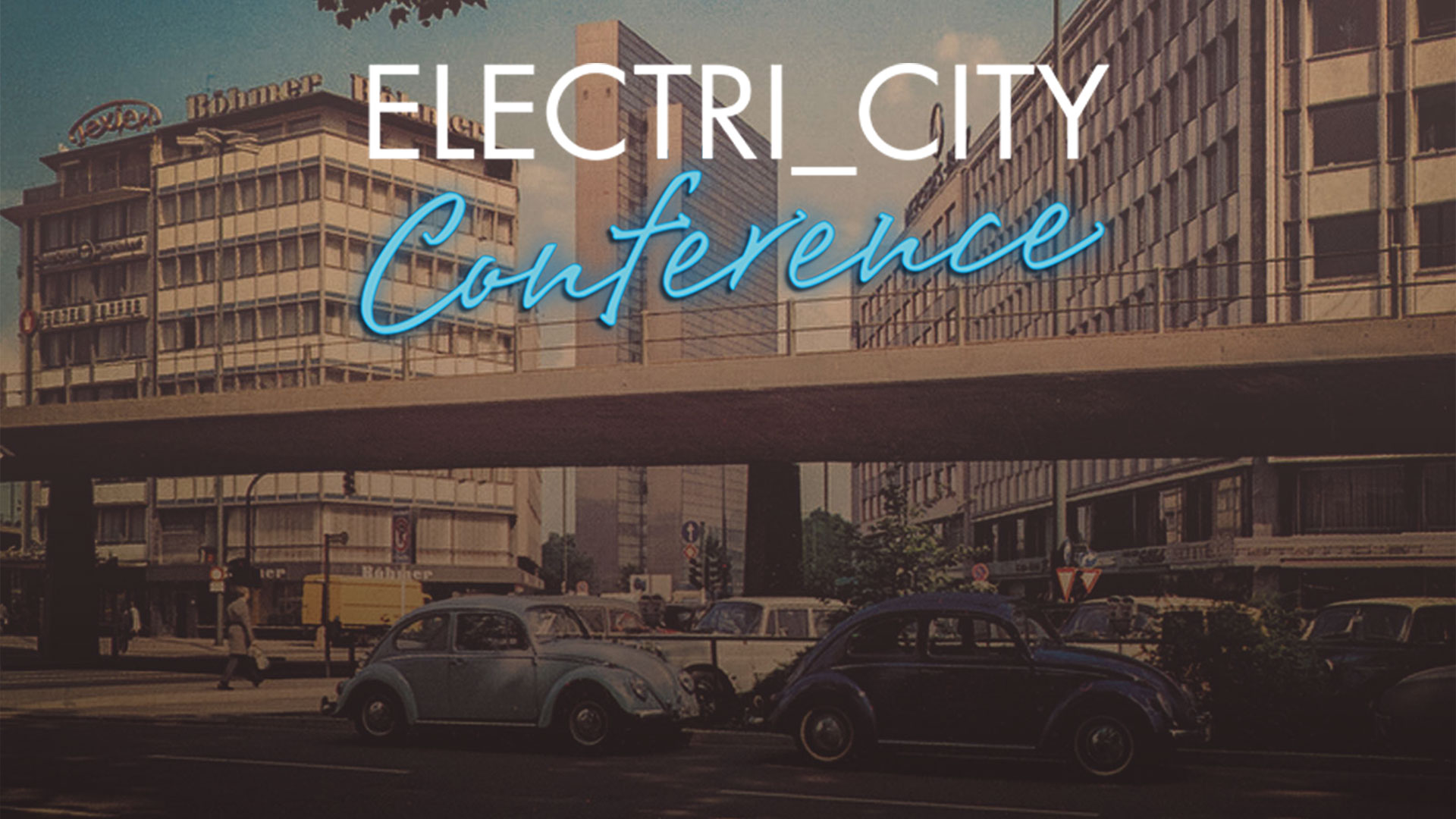 WARPED TYPE Audiovisual Installation at Electri_City Conference 2015