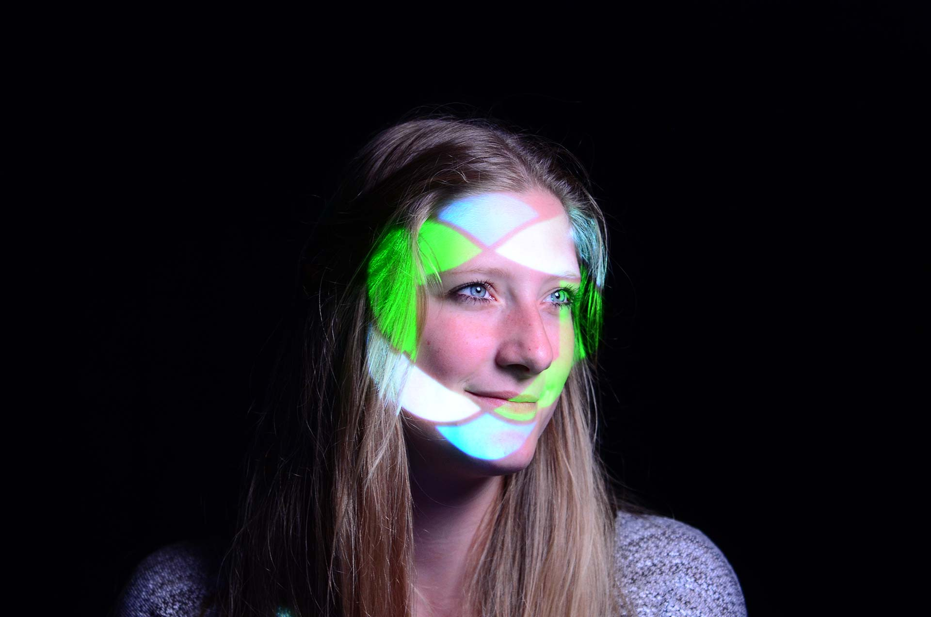 WARPED TYPE Photobooth - Open Source Festival